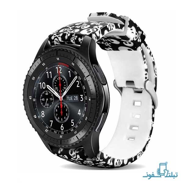 بند سیلیکونی طرح دار ساعت هوشمند گیر S3