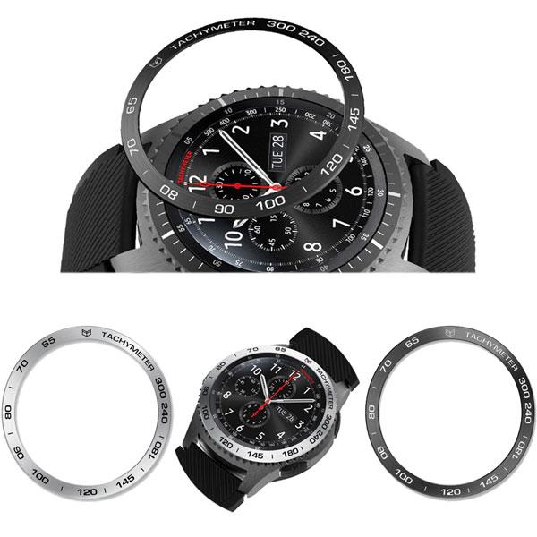 خرید محافظ فلزی بازل ساعت هوشمند سامسونگ گیر S3 فرانتیر