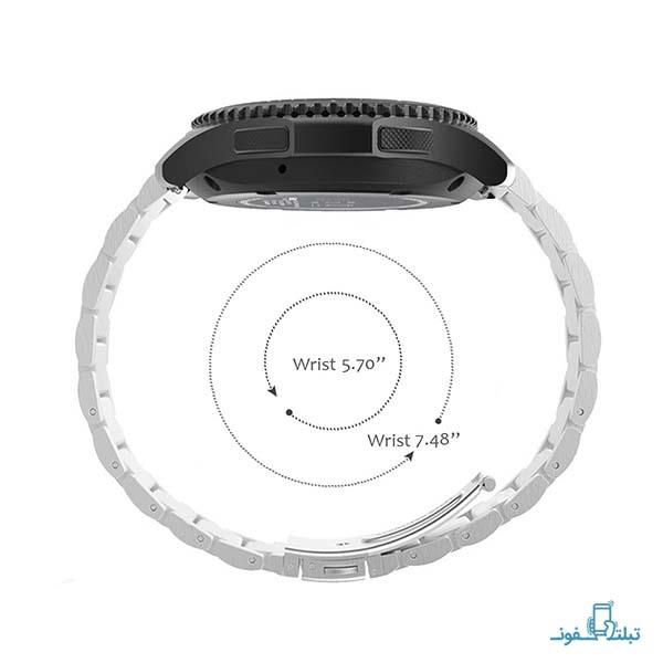 بند فلزی ساعت هوشمند سامسونگ گیر اسپورت