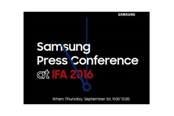 رویداد 1 سپتامبر سامسونگ در مراسم IFA