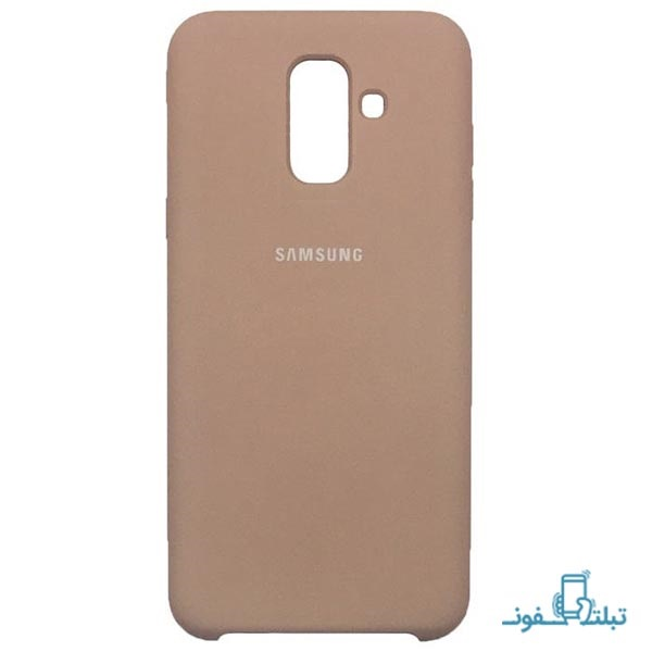 Samsung Silicone Cover For Galaxy A6 Plus 2018-buy-shop