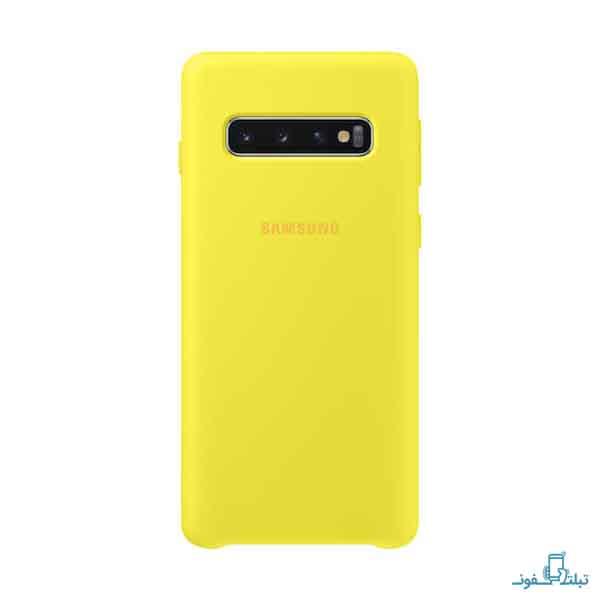 خرید کاور سیلیکونی طرح اصلی گوشی موبایل سامسونگ گلکسی s10