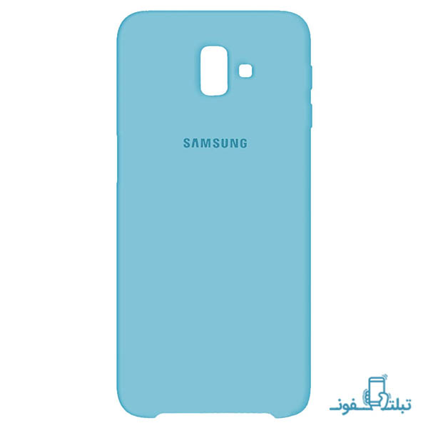 Samsung Silicone Cover For Galaxy j6 Plus 2018-shop