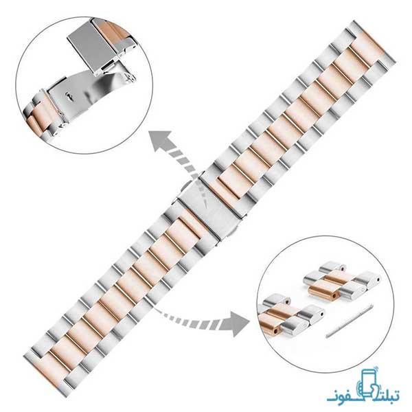 بند فلزی دو رنگ ساعت هوشمند سامسونگ