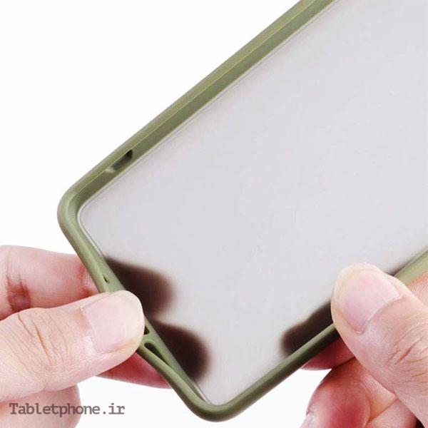 قاب گوشی سامسونگ Galaxy S20 FE پشت مات رنگی