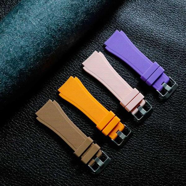 بند سیلیکونی ساعت هوشمند مدل stripe
