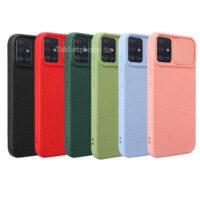 خرید قاب سیلیکونی سامسونگ Galaxy A71 با محافظ دوربین