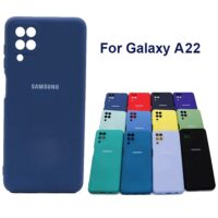 خرید قاب سیلیکونی سامسونگ Galaxy A22 4G مدل محافظ دوربین