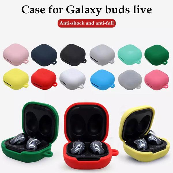 خرید کاور محافظ هندزفری Samsung Galaxy Buds Live مدل سیلیکونی