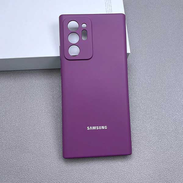 خرید قاب سیلیکونی سامسونگ Galaxy Note 20 Ultra مدل محافظ دوربین