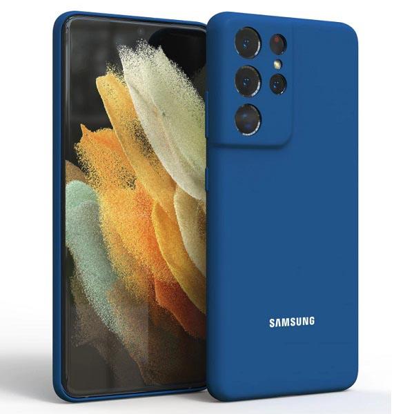 خرید قاب سیلیکونی سامسونگ Galaxy S21 Ultra مدل محافظ دوربین