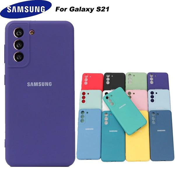 قاب سیلیکونی سامسونگ Galaxy S21 مدل محافظ دوربین