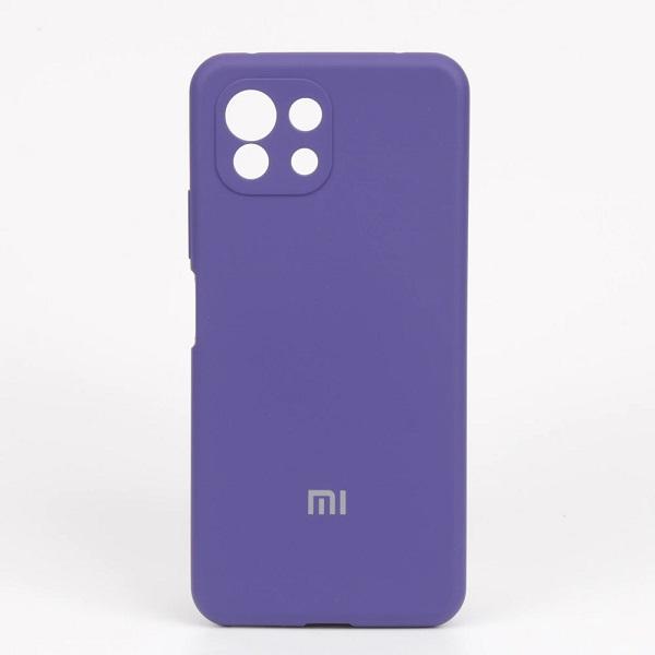 خرید قاب سیلیکونی شیائومی Mi 11 Lite مدل محافظ دوربین