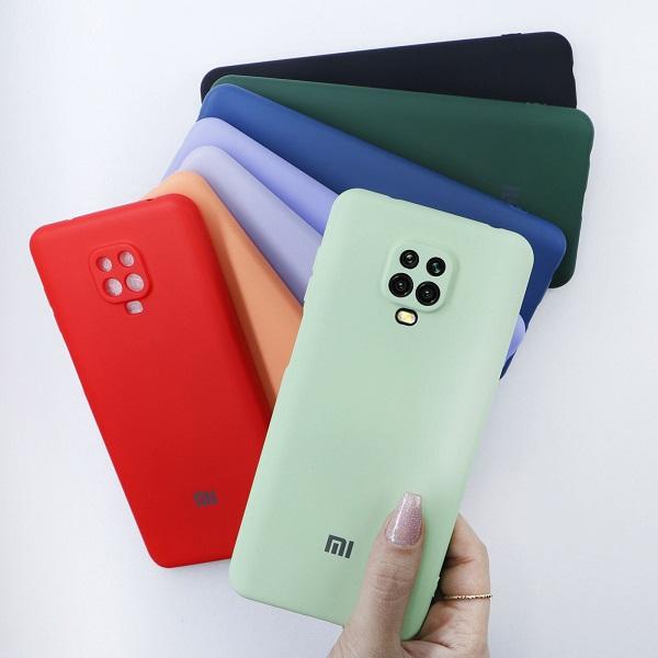 خرید قاب سیلیکونی شیائومی Redmi Note 9 Pro/9s مدل محافظ دوربین