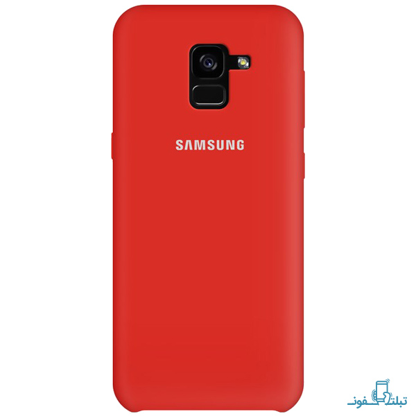 Silicone Cover For Samsung Galaxy A8 Plus 2018-3-Buy-Price-Online