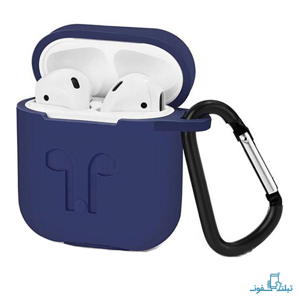 Silicone Protective Cover With a Retaining Strap For Apple AirPods Case-1-Buy-Price-Online