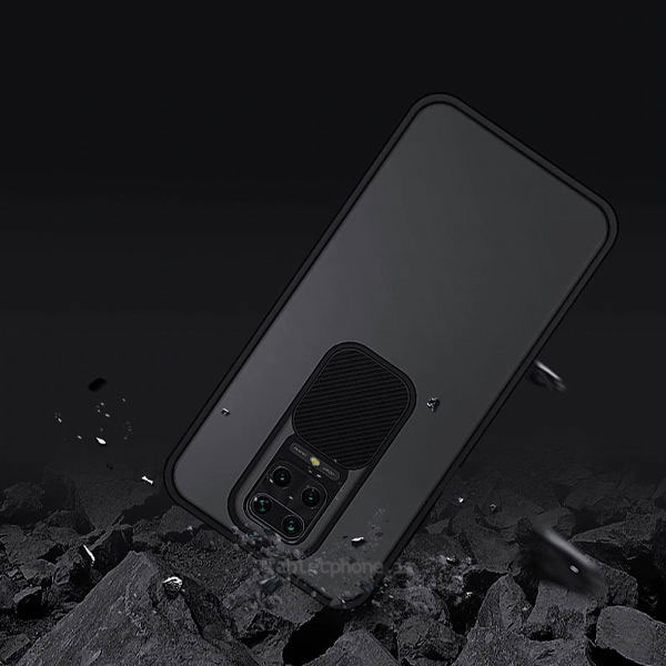 خرید قاب محافظ دوربین شیائومی Redmi Note 9 Pro / Note 9S مدل پشت مات