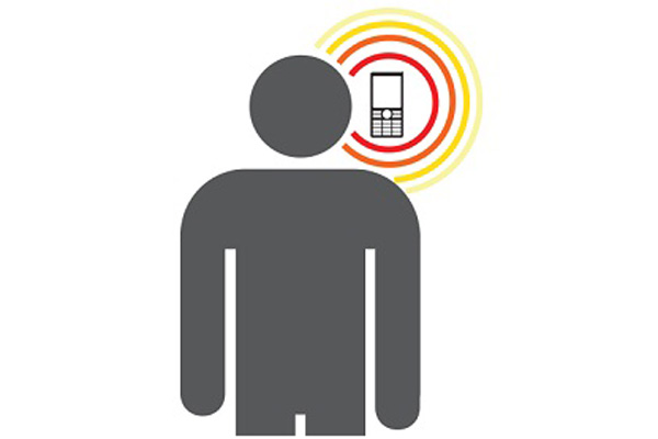 تشعشعات رادیویی گوشی موبایل