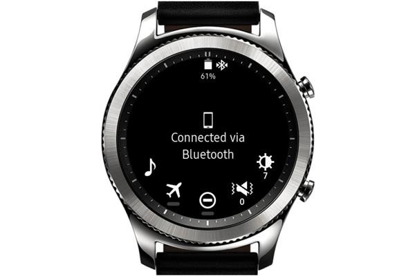 نقد و بررسی ساعت هوشمند سامسونگ Gear S3 - نوتیفیکیشنها