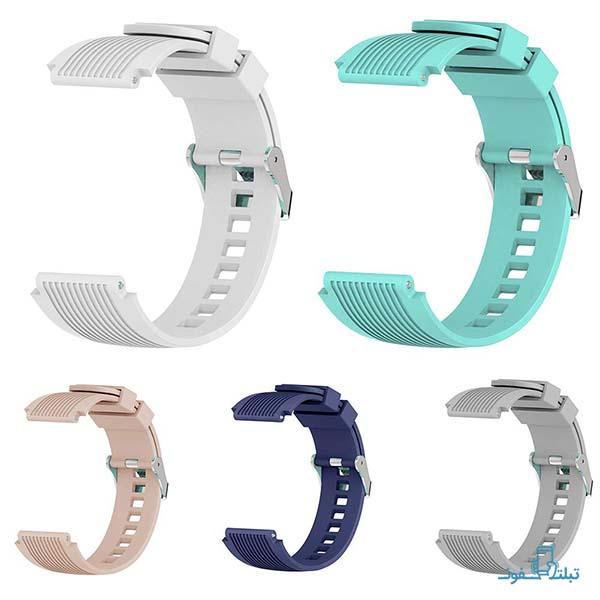 بند سیلیکونی ساعت هوشمند سامسونگ Gear S3