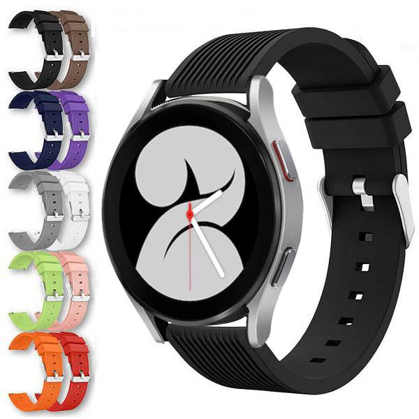 خرید بند سیلیکونی سامسونگ گلکسی واچ 4 Galaxy Watch مدل Straight