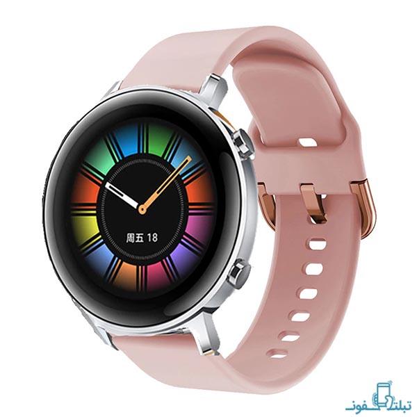 بند سیلیکونی ساعت هوشمند هواوی واچ GT 2 مدل 42 میلی