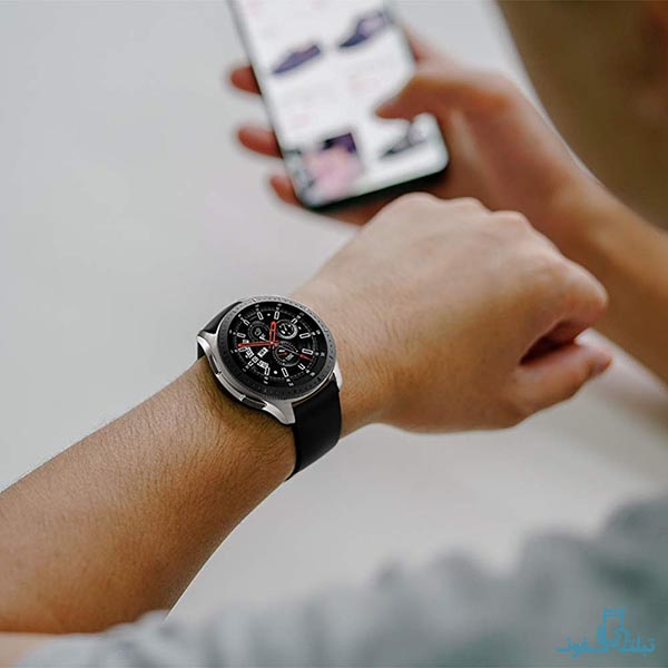 بند سیلیکونی ساعت هوشمند سامسونگ گلکسی واچ 46 میلی