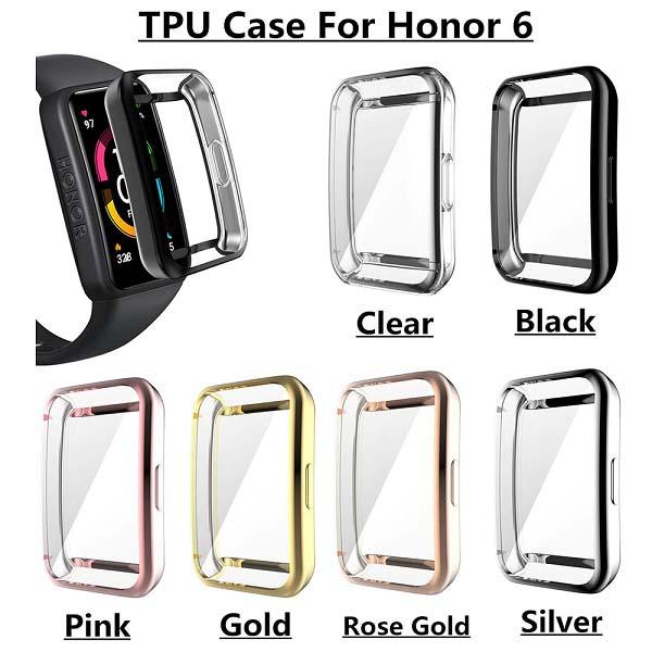 خرید کاور مچ بند هوشمند آنر بند Honor Band 6 مدل TPU
