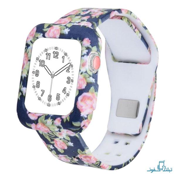 قیمت خرید بند سیلیکونی طرح دار ساعت هوشمند Apple Watch 38mm