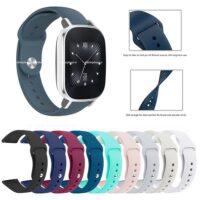 خرید بند سیلیکونی ساعت ایسوس Zenwatch 2 WI502Q مدل دکمهای
