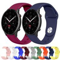 خرید بند سیلیکونی ساعت شیائومی Amazfit GTR 2 مدل دکمهای