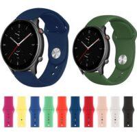 خرید بند سیلیکونی ساعت شیائومی Amazfit GTR 2e مدل دکمهای