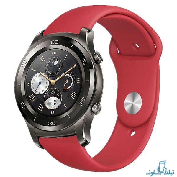 بند سیلیکونی ساعت هوشمند هواوی واچ 2 کلاسیک
