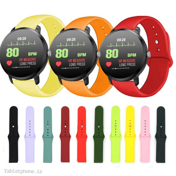 خرید بند بند سیلیکونی ساعت هوشمند S11 WR3 مدل دکمهای