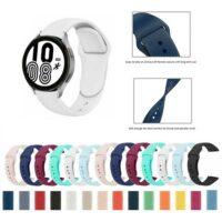 خرید بند سیلیکونی ساعت سامسونگ Galaxy Watch 4 مدل دکمه ای