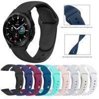 خرید بند سیلیکونی ساعت سامسونگ Galaxy Watch 4 Classic 46mm مدل دکمه ای