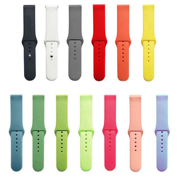بند سیلیکونی ساعت هوشمند مدل دکمه ای
