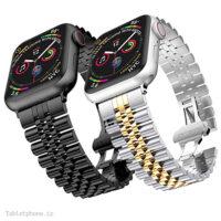 بند ساعت هوشمند اپل واچ 44 / 42mm مدل استیل 5Rows