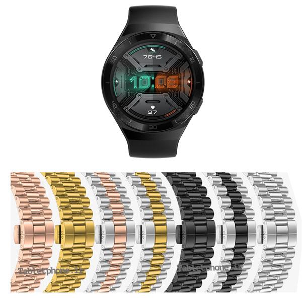 بند ساعت هواوی Huawei Watch GT 2e استیل 3Rows
