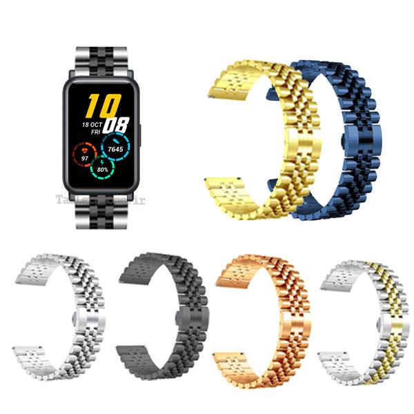 خرید بند ساعت هوشمند آنر Honor Watch ES استیل 5Rows