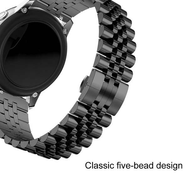 خرید بند فلزی ساعت هوشمند مدل استیل 5Rows