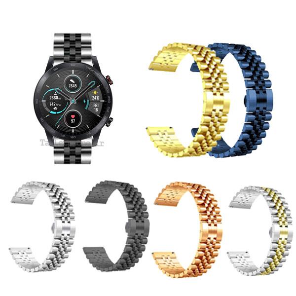 بند ساعت آنر Magic Watch 2 46mm استیل 5Rows