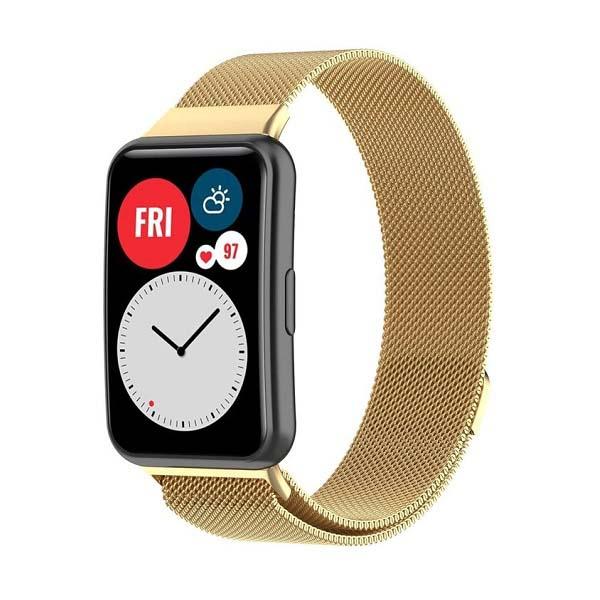 خرید بند ساعت هوشمند هواوی واچ Huawei Watch Fit حصیری میلانس