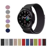 خرید بند ساعت سامسونگ گلکسی Watch 4 Classic 46mm حصیری میلانس