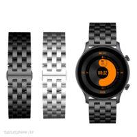 خرید بند ساعت هوشمند شیائومی Haylou RS3 استیل Solid