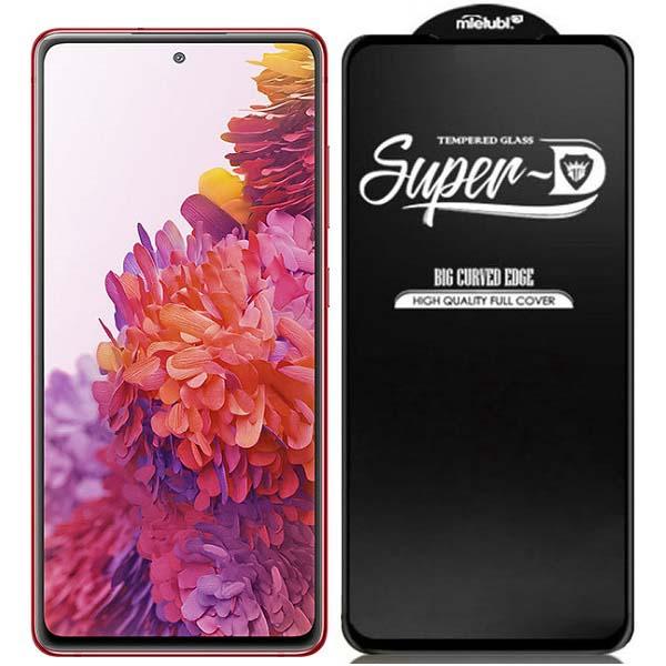 خرید گلس فول گوشی سامسونگ Galaxy S20 FE مدل Super D