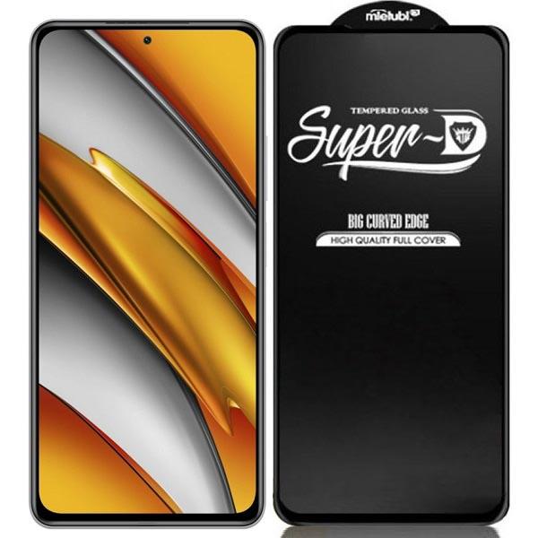 خرید گلس فول گوشی شیائومی Poco F3 مدل Super D