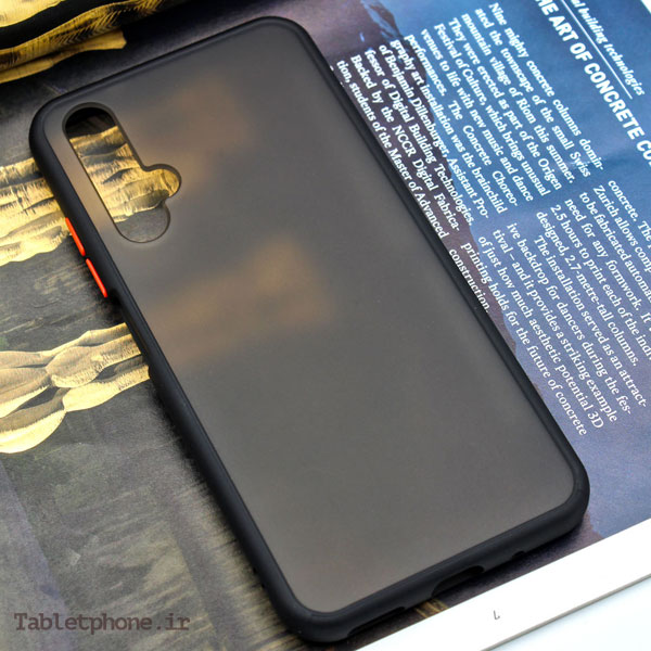قاب گوشی هواوی Huawei Nova 5T پشت مات رنگی