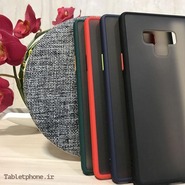 قاب گوشی سامسونگ Galaxy Note 9 پشت مات رنگی