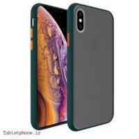 قاب گوشی ایفون iPhone XS Max پشت مات رنگی